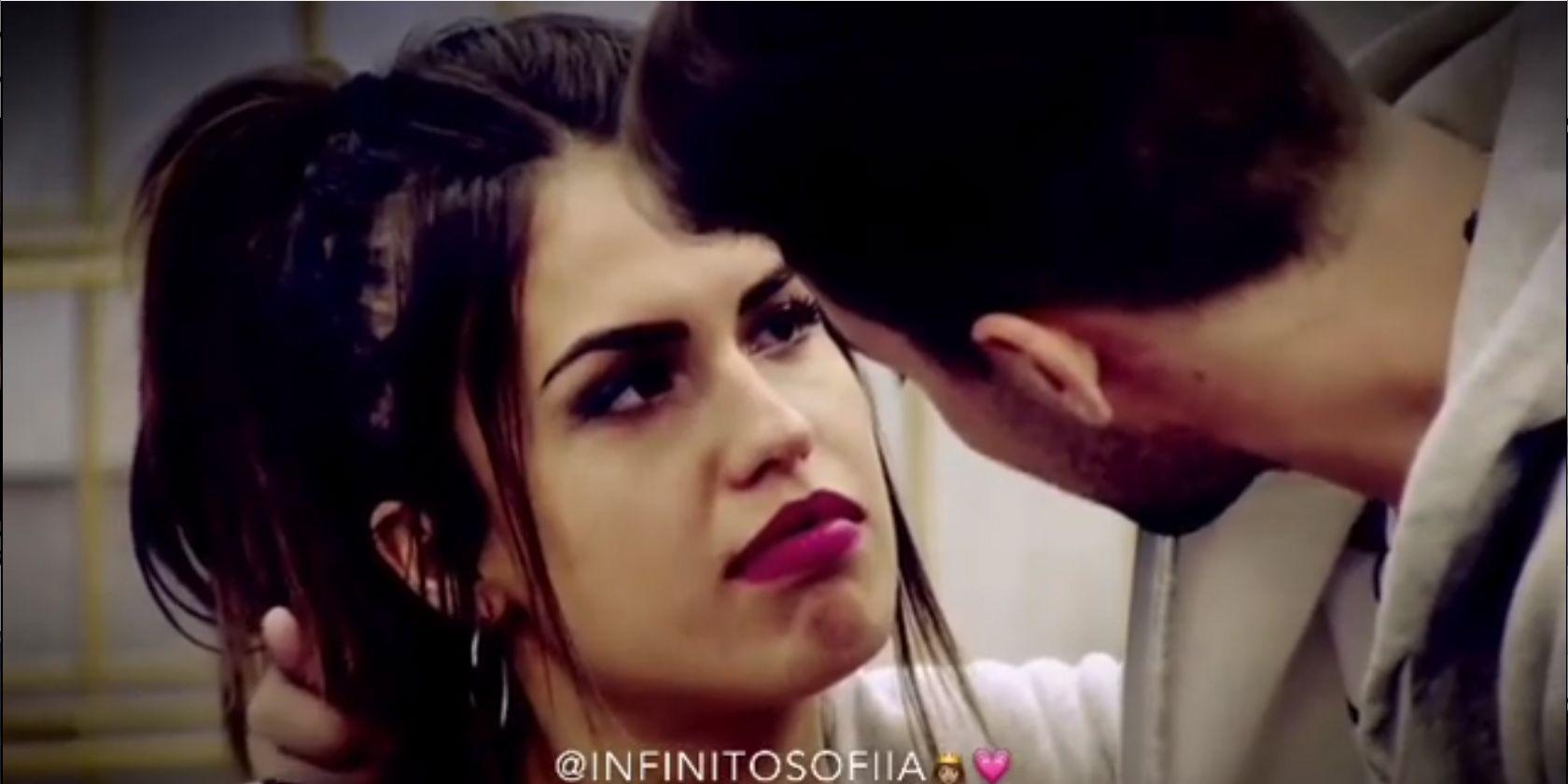 Sofía y Alejandro, tonteo máximo en 'GH DÚO'