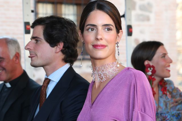sofía palazuelo en la boda de jaime palazuelo y micaella rubini