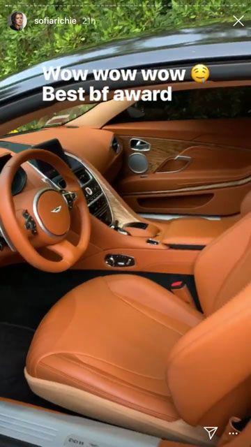 Sofia Richie's Aston Martin