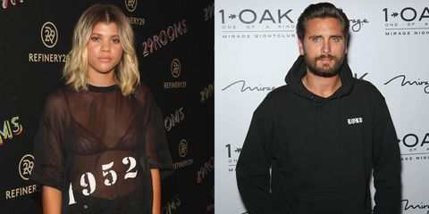Now Sophia Richie's spoken out over rumours she's dating Scott Disick