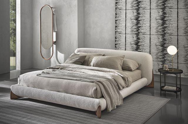 porada, collezione 2021  softbay bed