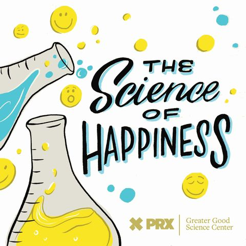 the science of happiness podcast logo