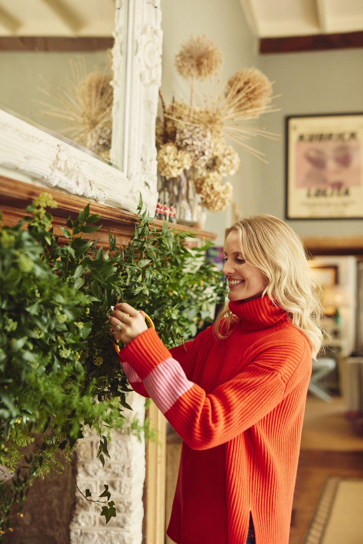 Inside florist Willow Crossley's country home in the Cotswolds