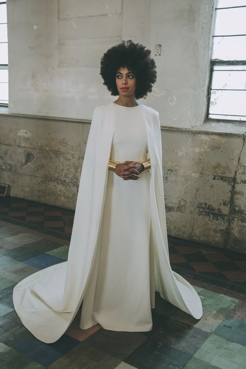 White, Clothing, Outerwear, Dress, Gown, Costume, Formal wear, Robe, Fashion design,