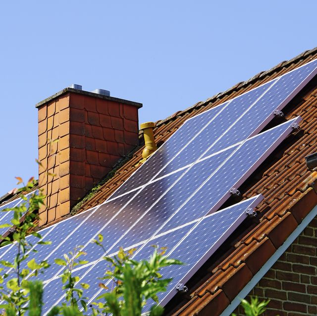 architektur, photovoltaikanlage, deutschland, nordrhein westfalen, minden