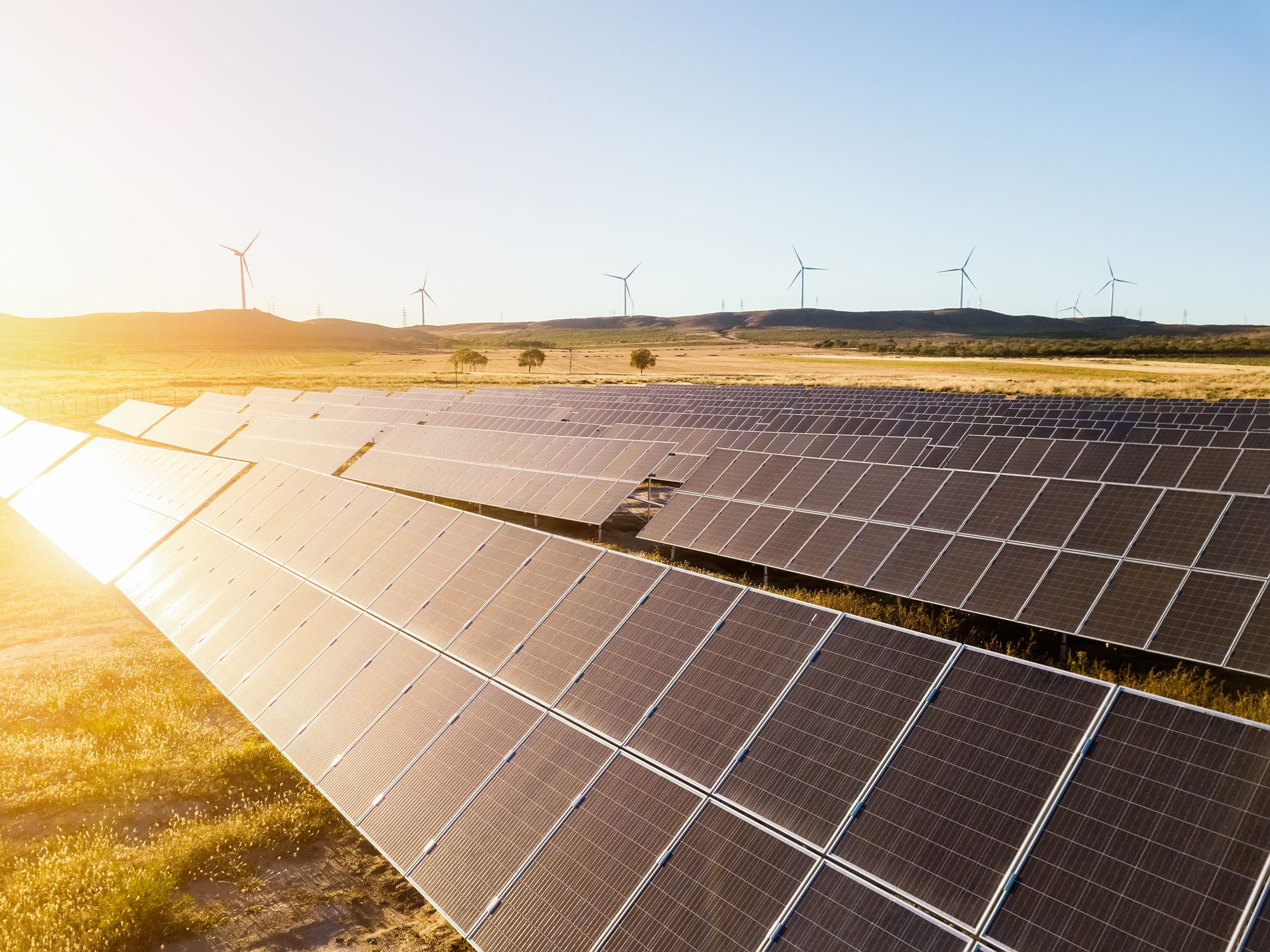 We Might Not Have Enough Materials for All the Solar Panels and Wind Turbines We Need
