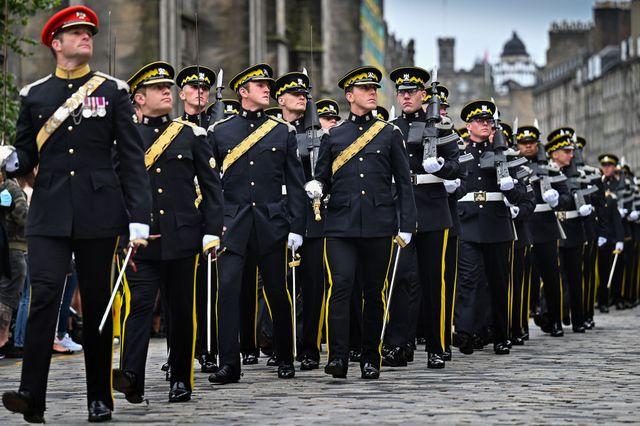 royal scots dragoon guards celebrate 50th anniversary
