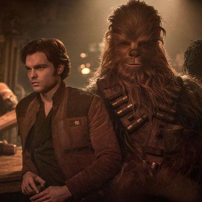 Solo: A Star Wars Story Another standalone entry into the Star Wars universe, Solo offers up an origin story for the iconic pilot (played here by Alden Ehrenreich) as he navigates the criminal underworld of the galaxy far, far away—and joins forces with Chewbacca and Lando Calrissian.