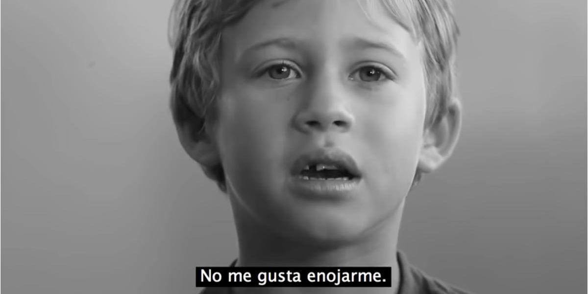 Sólo respira, el vídeo que te dice cómo lidian los niños con sus emociones