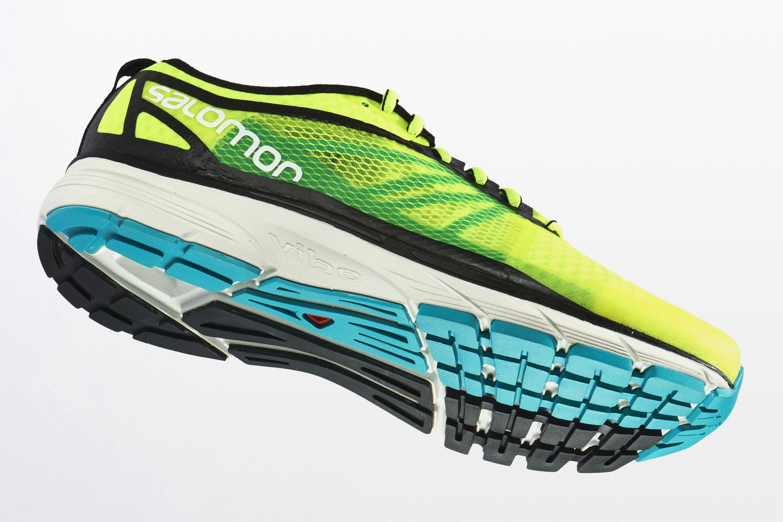 salomon sense pro max mens trail running shoes - blue yond