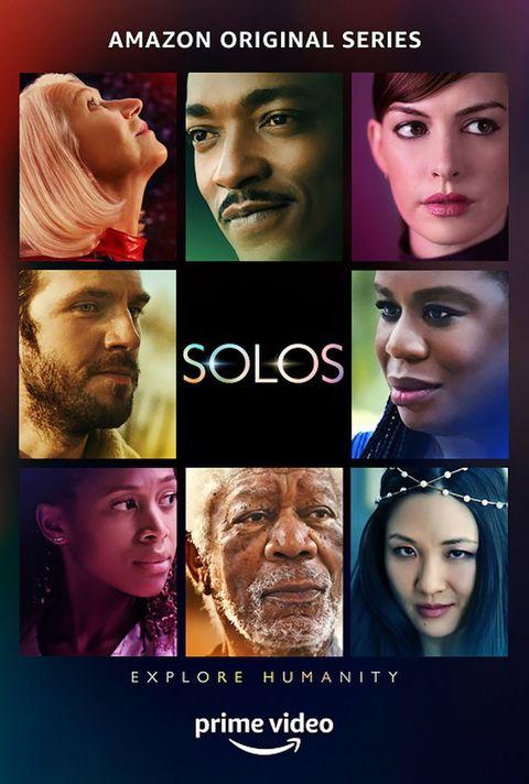 póster de solos, la nueva serie de prime video