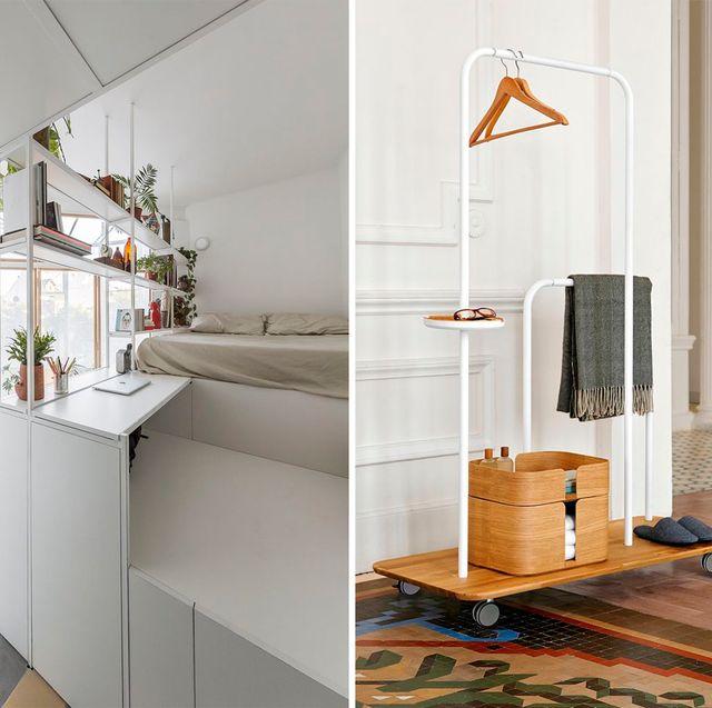 ideas, soluciones y diseños ingeniosos para aprovechar el espacio