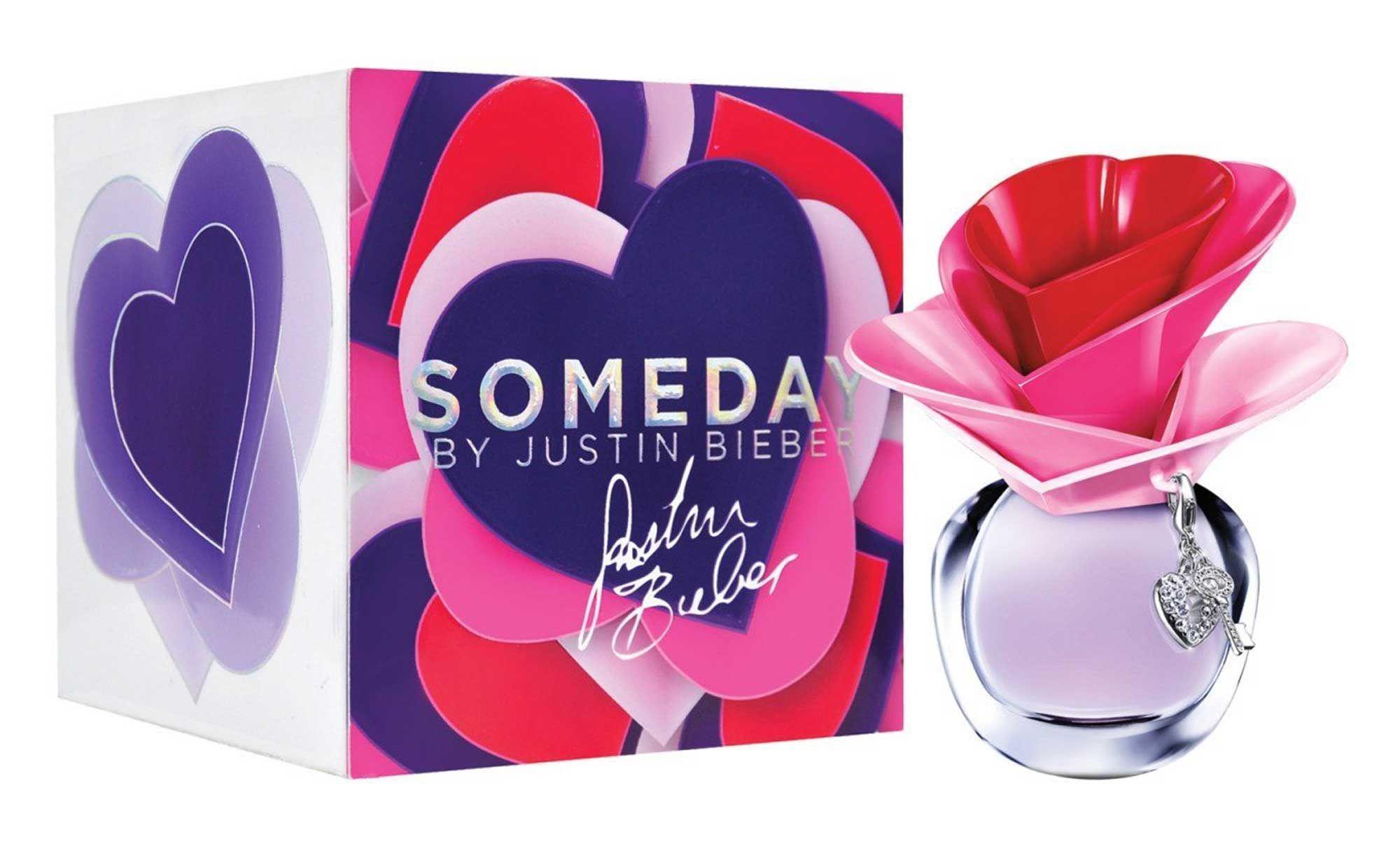2011: Justin Bieber Someday for Women Eau De Parfum Spray