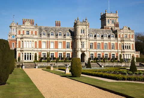somerleyton hall country house, near lowestoft, suffolk, england