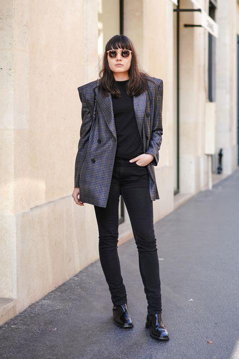 Clothing, Street fashion, Photograph, Fashion, Jeans, Outerwear, Footwear, Coat, Snapshot, Eyewear,