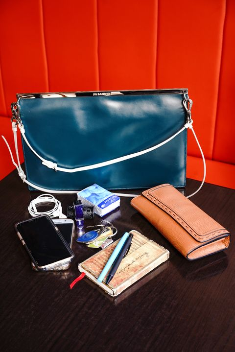 Blue, Bag, Leather, Fashion accessory, Material property, Handbag, Eyewear, Luggage and bags, Wallet,