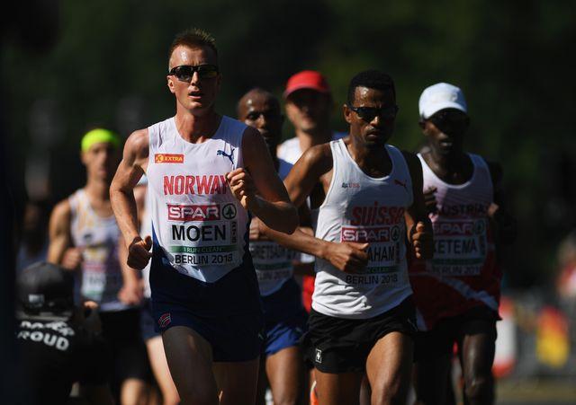 sondre moen compite en los europeos de atletismo