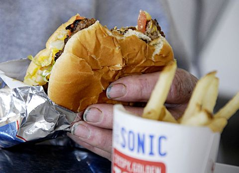 sonic burgers antibiotics