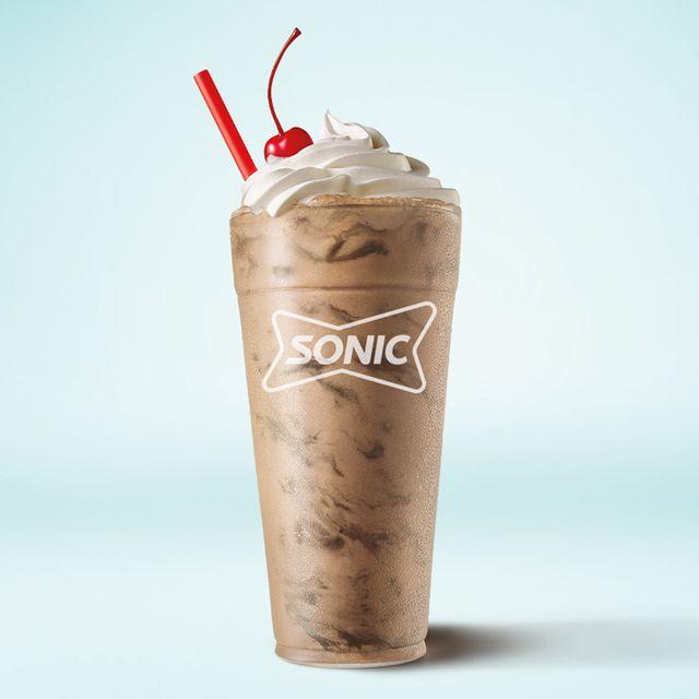 sonic drive thru brownie batter shake