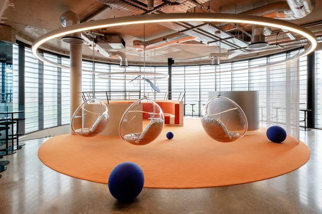 ufficio futurista