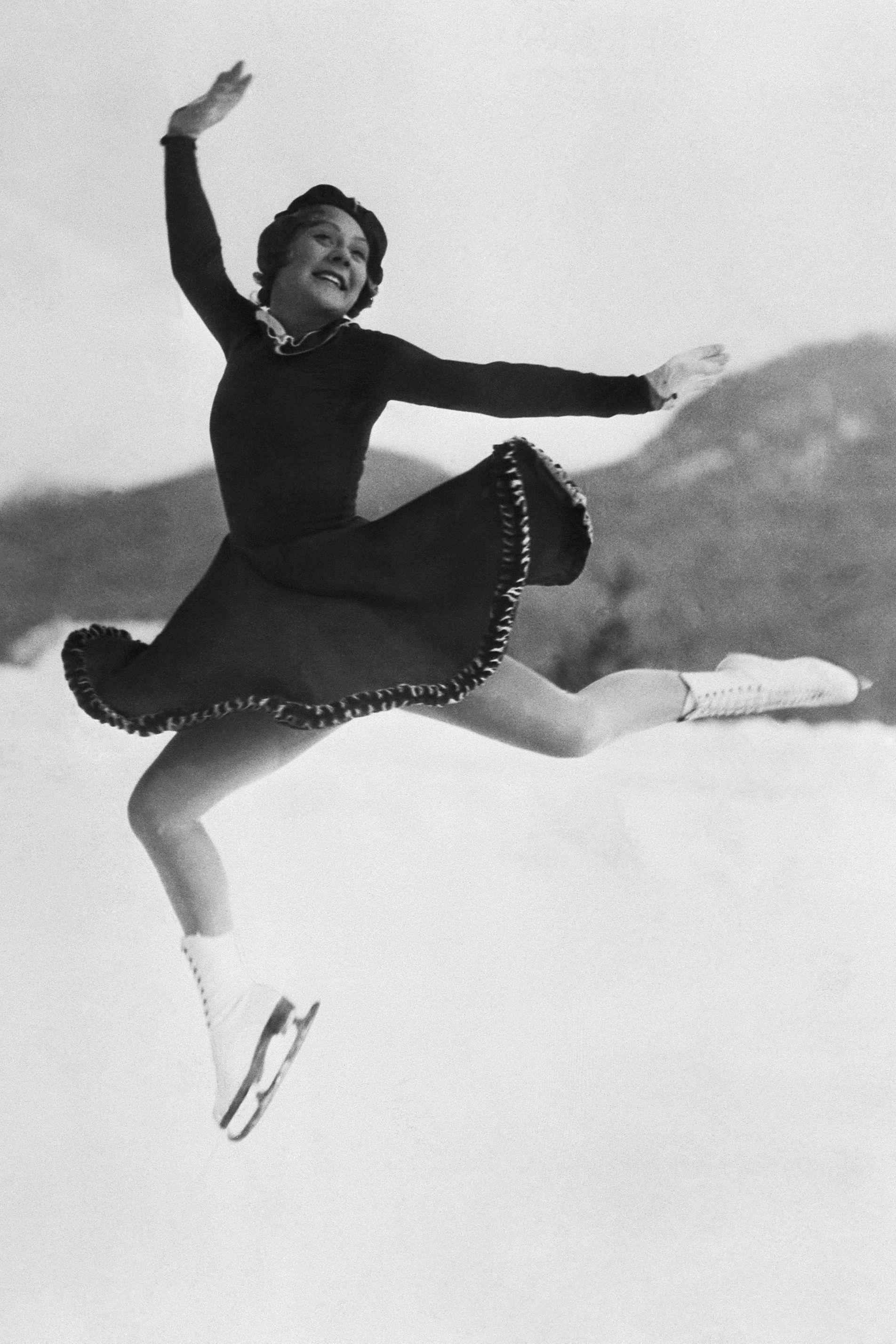 Sonja Henie at Olympic Games