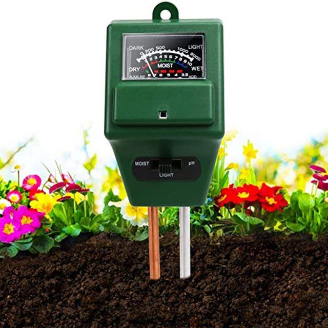 sonkir 3 in 1 soil moisture light ph tester
