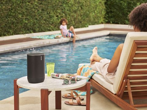 Outdoor furniture, Swimming pool, Leisure, Furniture, Sunlounger, Table, Water, Patio, Summer, Outdoor table,