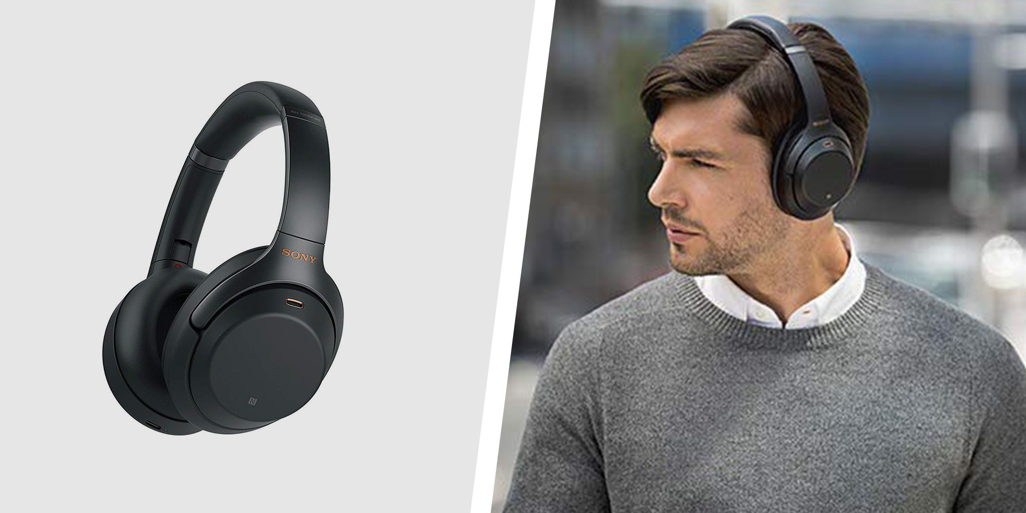 Sony Noise-Cancelling Headphones Are $50 Off On Amazon Today