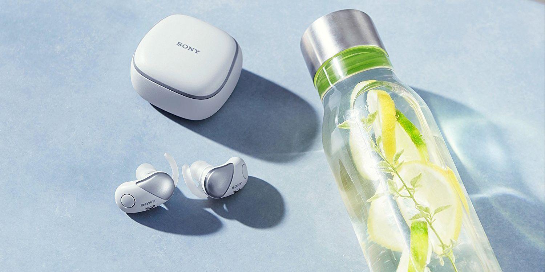 Sony's WF-SP700 Wire-Free Earbuds