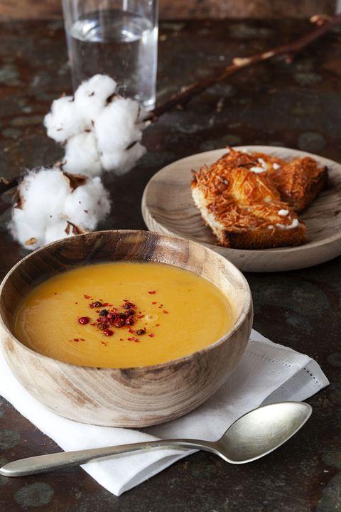 receta sopa de calabaza