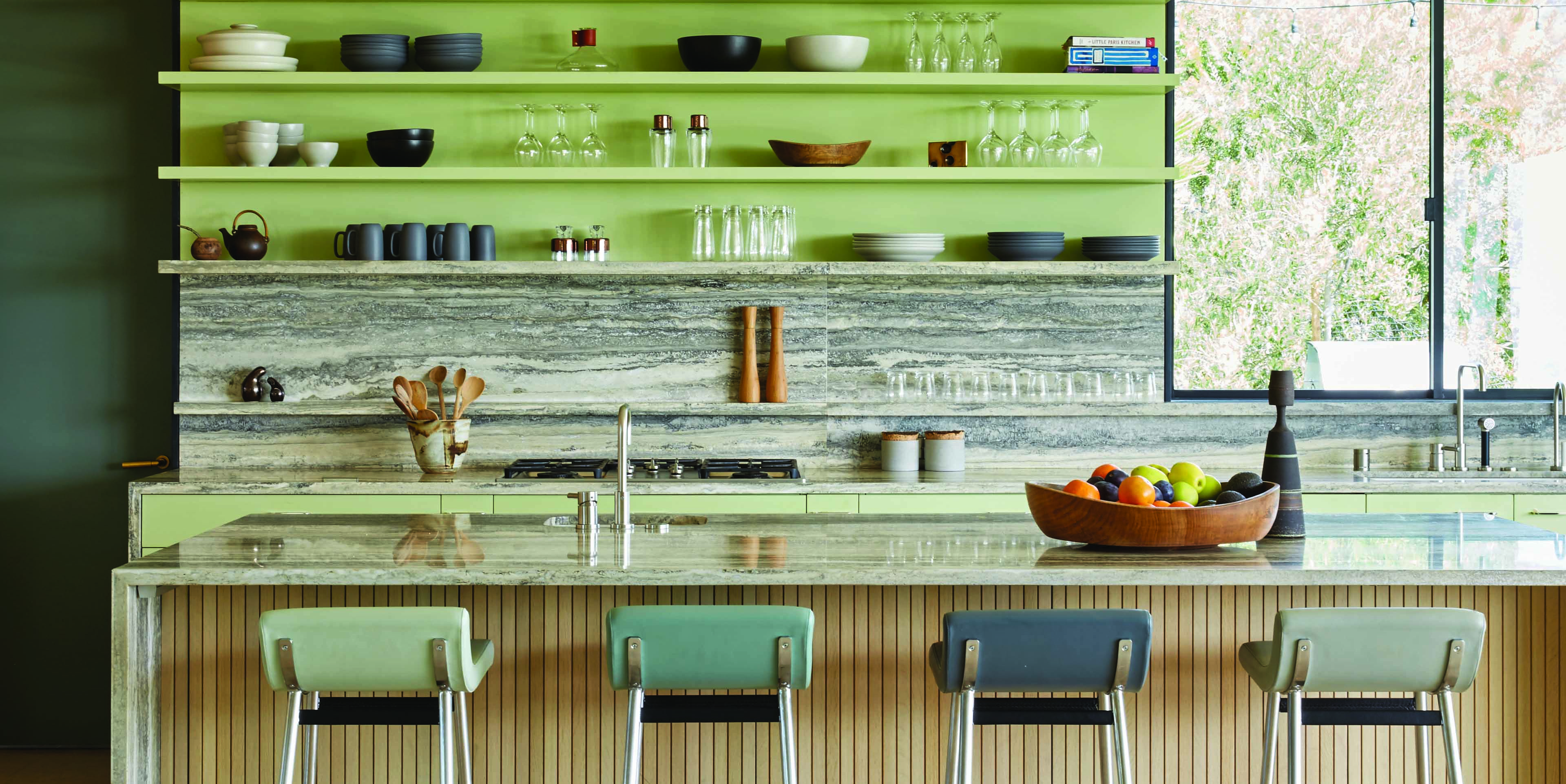 24 Green Kitchens That Will Make You Feel Alive