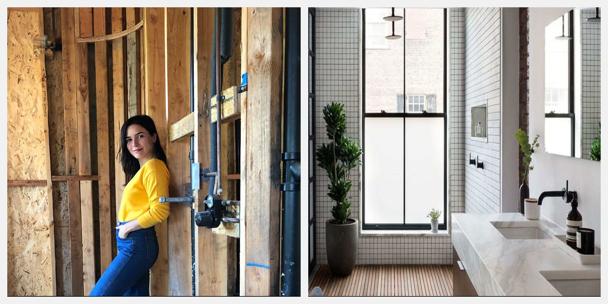 Inside Actress Sophia Bush's Plans for Her Dramatic Bathroom Renovation