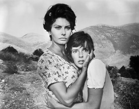 Sophia Loren and Eleonora Brown in La Ciociara