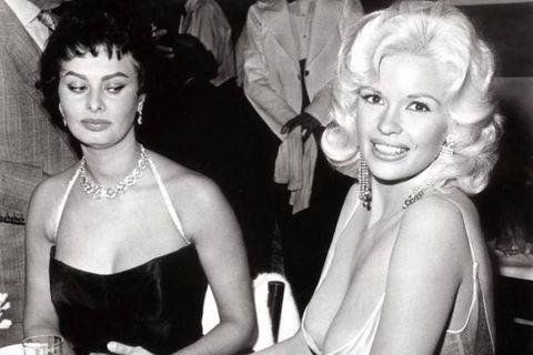 Jayne Mansfield, Sophia Loren
