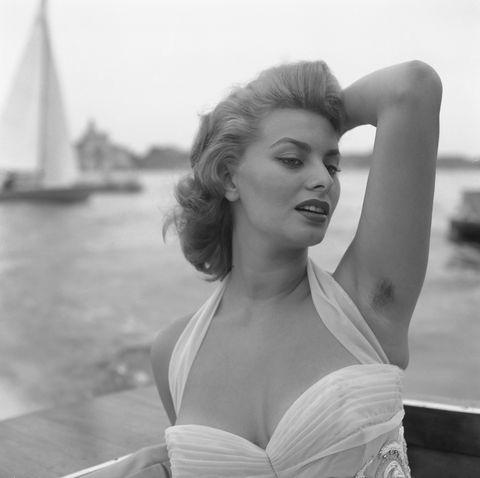 Sophia Loren sin depilar