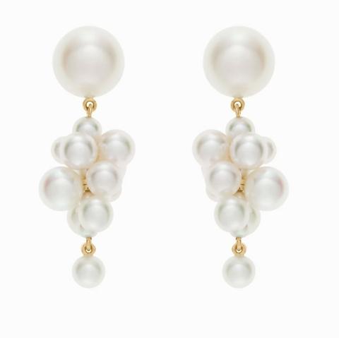 sophie bille brahe botticelli pearl earrings
