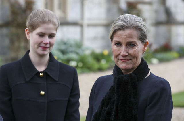 royal family attend sunday service in windsor