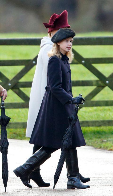 Queen Elizabeth II Attends Sunday Service At Sandringham
