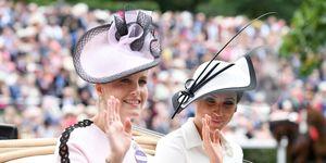 ソフィー夫人 ウェセックス メーガン妃 ヘンリー王子 エリザベス女王 英国王室