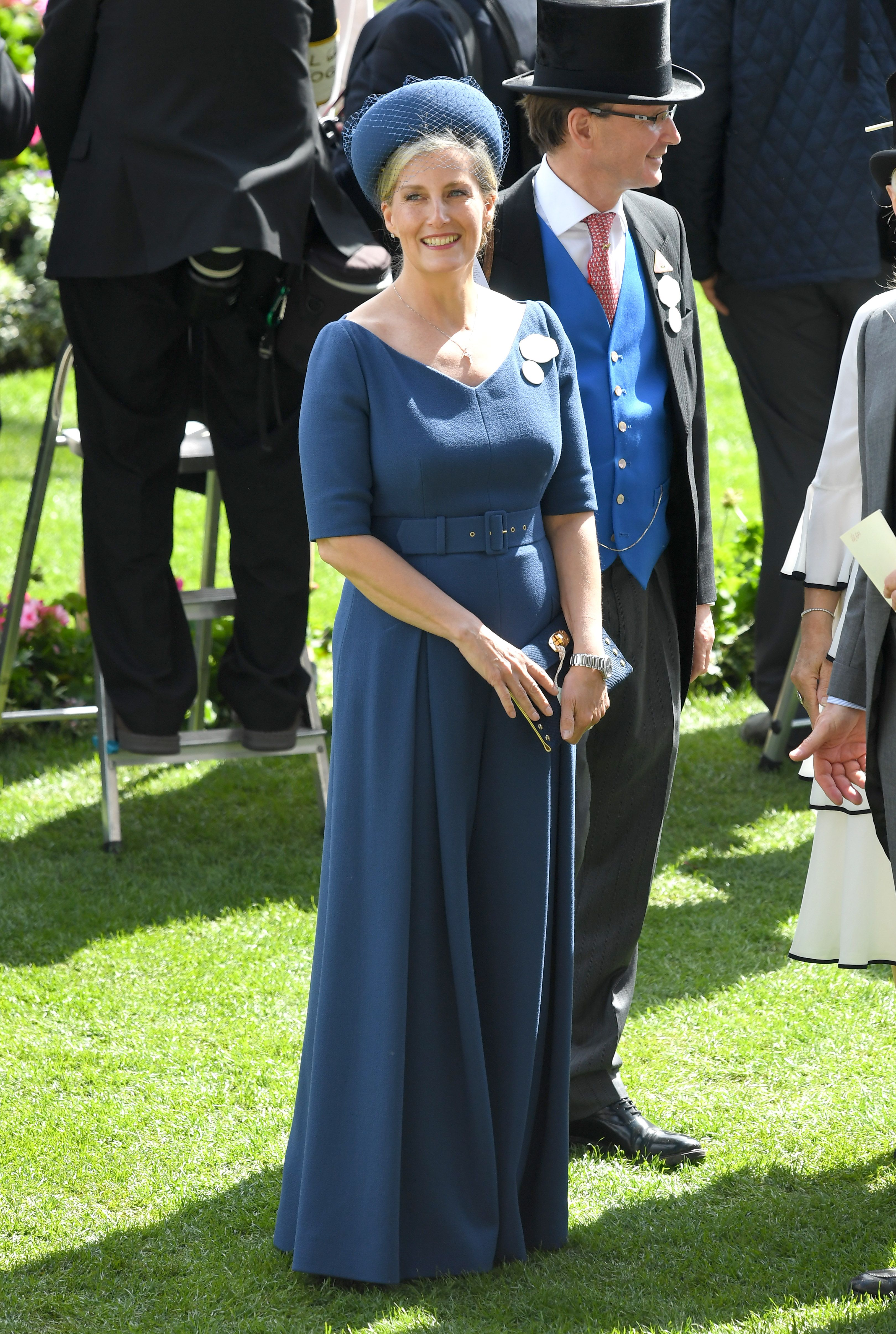 Sophie Countess of Wessex Wears Emilia Wickstead Jumpsuit to