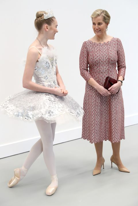 The Countess Of Wessex Opens The Central School of Ballet's New Premises