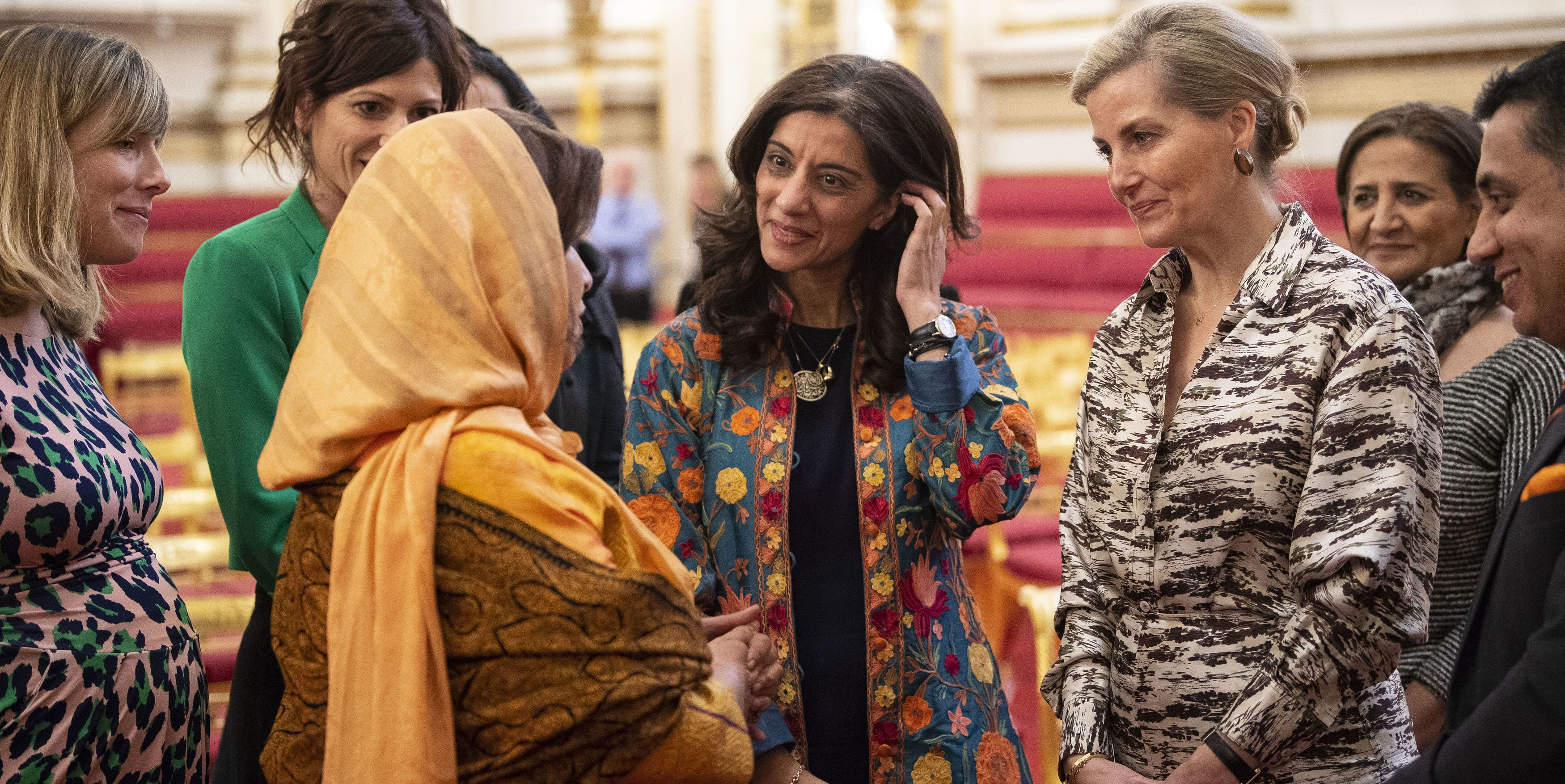 Sophie, Countess of Wessex Hosts Reception For Women Peacebuilders On International Women's Day 2019