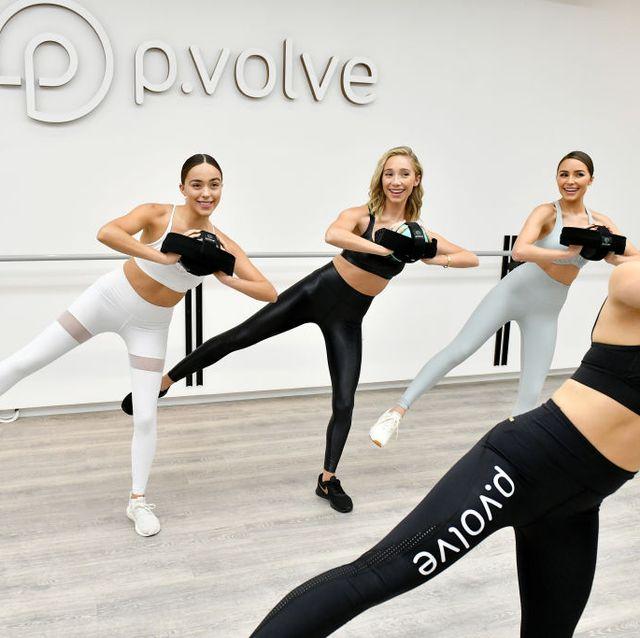 olivia culpo hosts pvolve's nyc studio opening