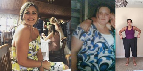 Woman shares how she lost 4 stone despite eating out twice a week