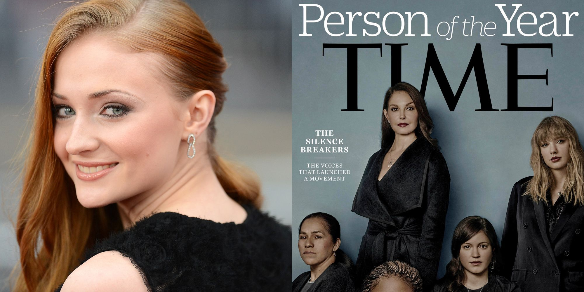 Sophie Turner Shuts Down Critic Who Said Taylor Swift Shouldn't Be on Time's Cover