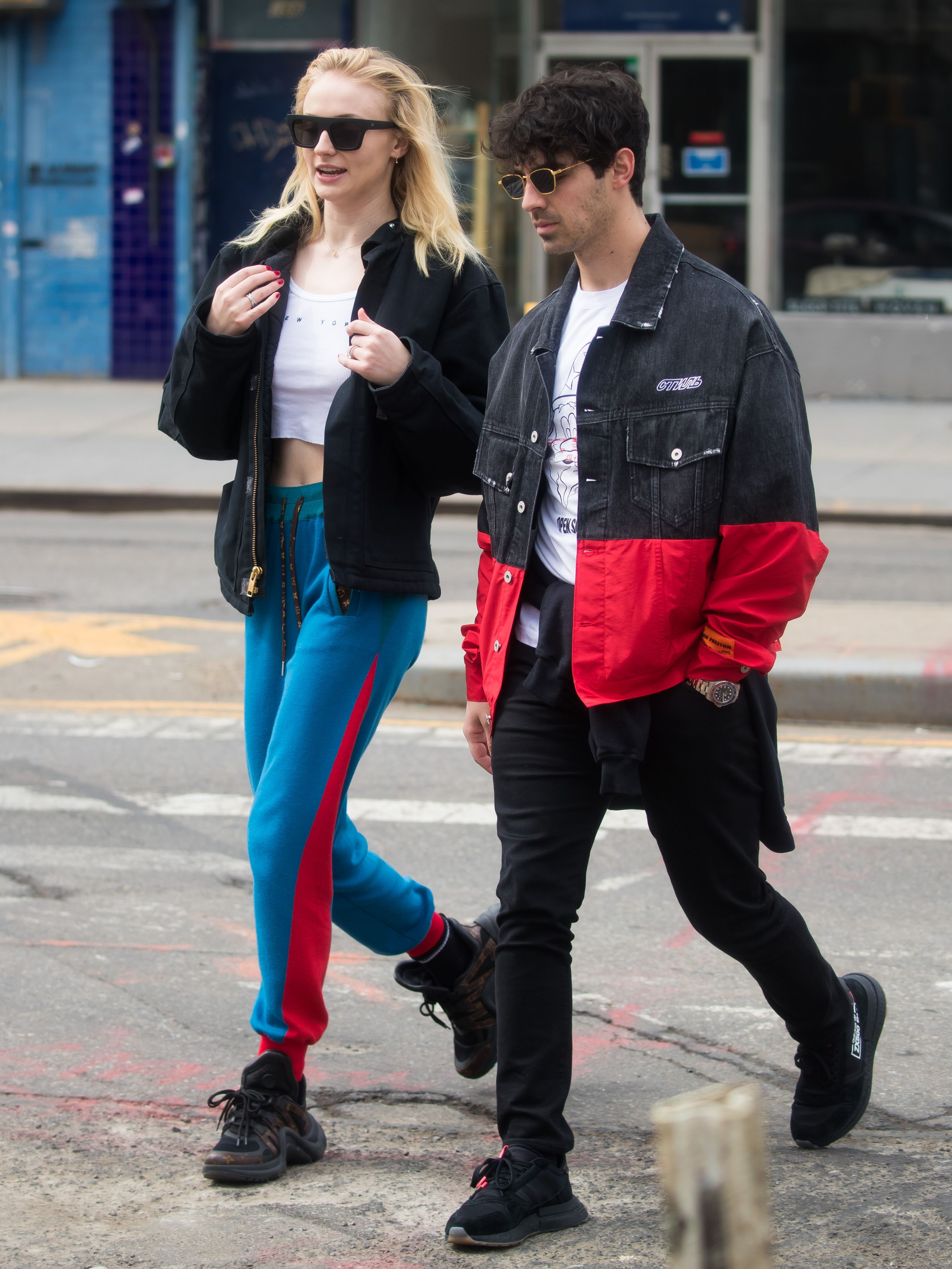 Joe Jonas and Sophie Turner Prove the Couple That Sleazes Together Stays Together