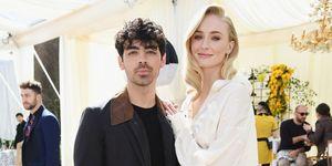 Sophie Turner and Joe Jonas - wedding dress