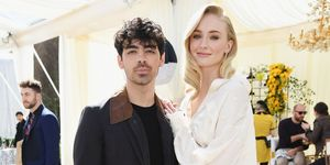 Sophie Turner and Joe Jonas - wedding dress