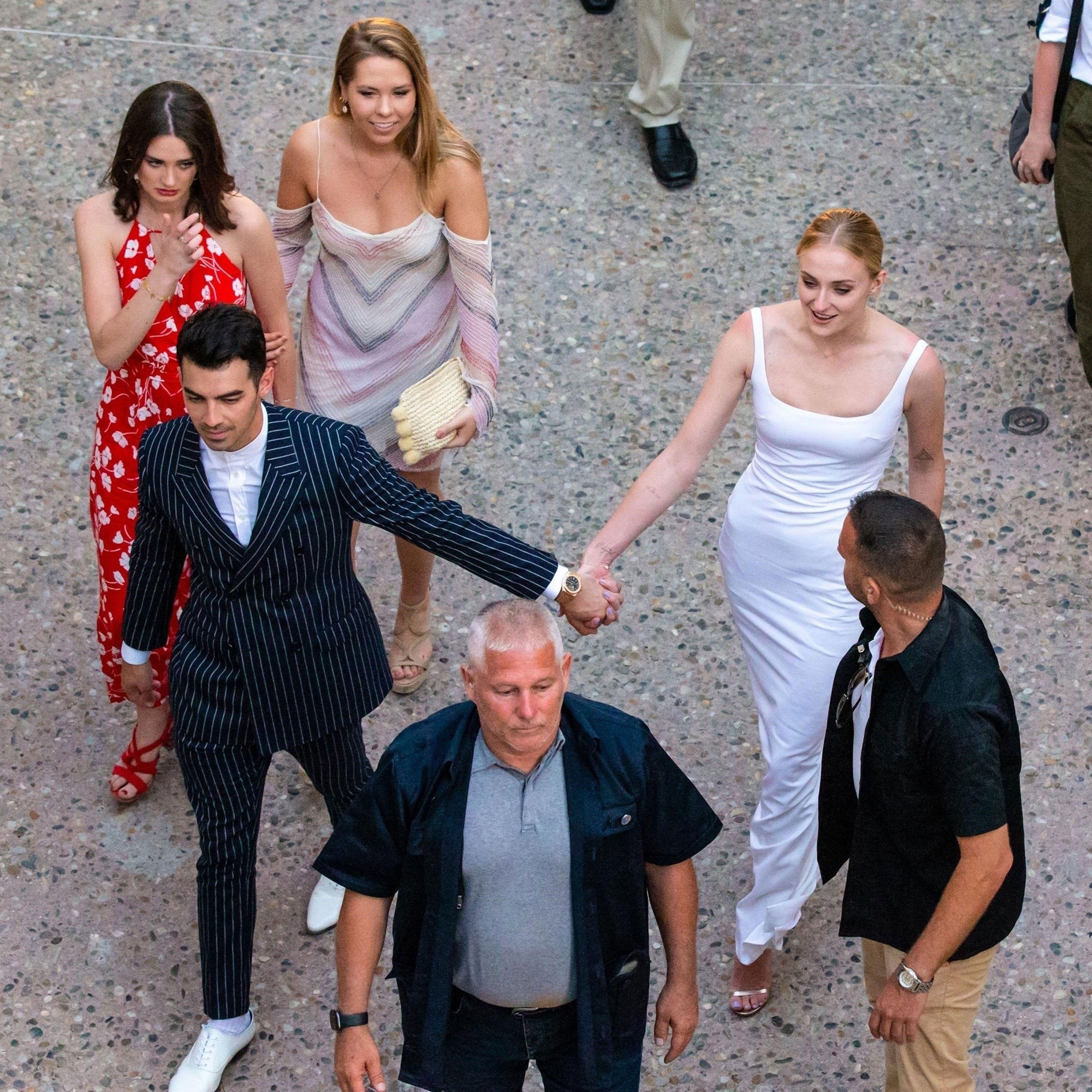 Joe Jonas Wedding: Sophie Turner, TripAdvisor, Dan