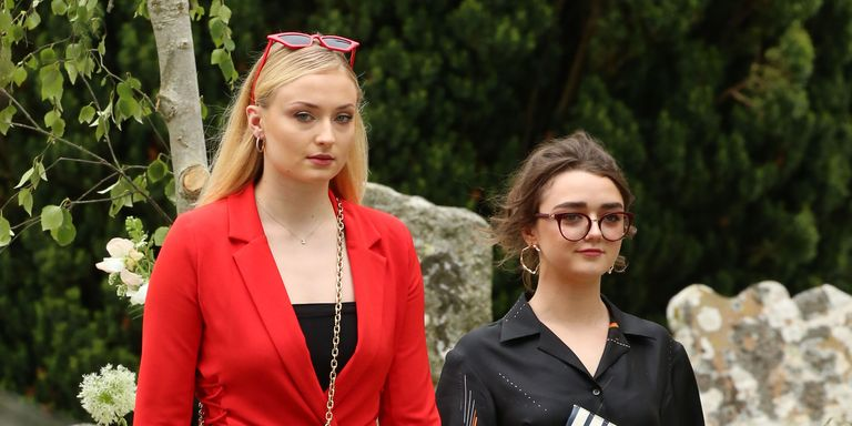 Sophie Turner And Maisie Williams Wore Matching Outfits To Kit